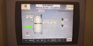 Scrubber gas